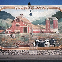 A Century of Dairy in Issaquah (Painting)