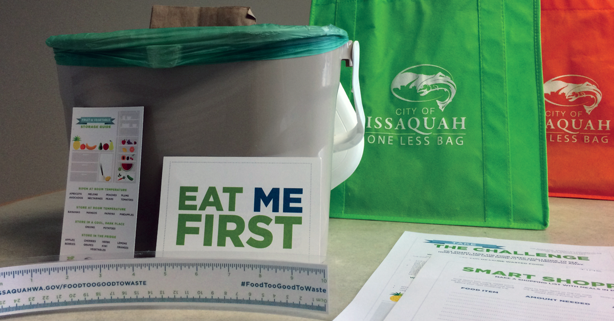 Eat Me First Sign and Reusable Bags