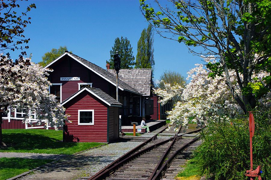 Historic Landmark- Issaquah Depot